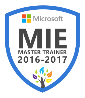 MIE Master Trainer 2016-2017
