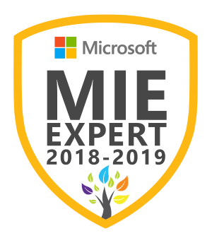 Microsoft Innovative Educator Expert 2018-2019