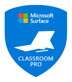 Microsoft Innovative Educator Surface Classroom Pro