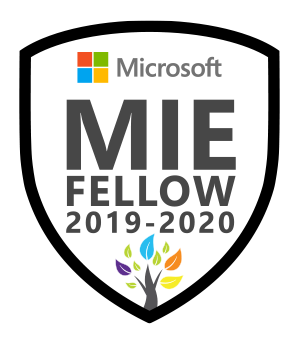 Microsoft Innovative Educator Fellow 2019-2020