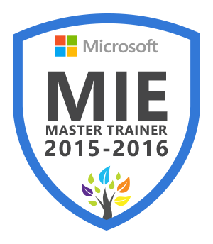 MIE Master Trainer 2015-2016