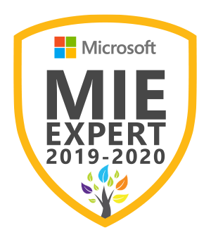 Microsoft Innovative Educator Expert 2019-2020
