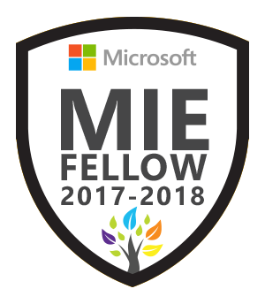 Microsoft Innovative Educator Fellow 2017-2018