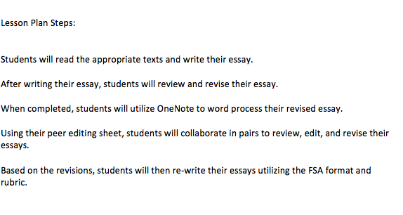 steps to writing a primary source essay