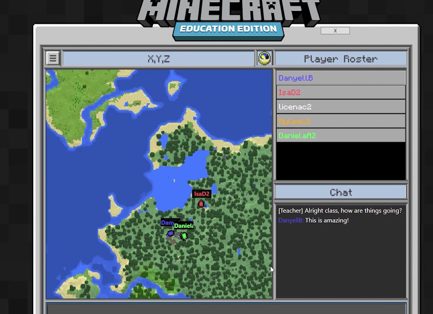 My Minecraft Journey Lesson Five Classroom Mode Microsoft In - Minecraft teleport player to location