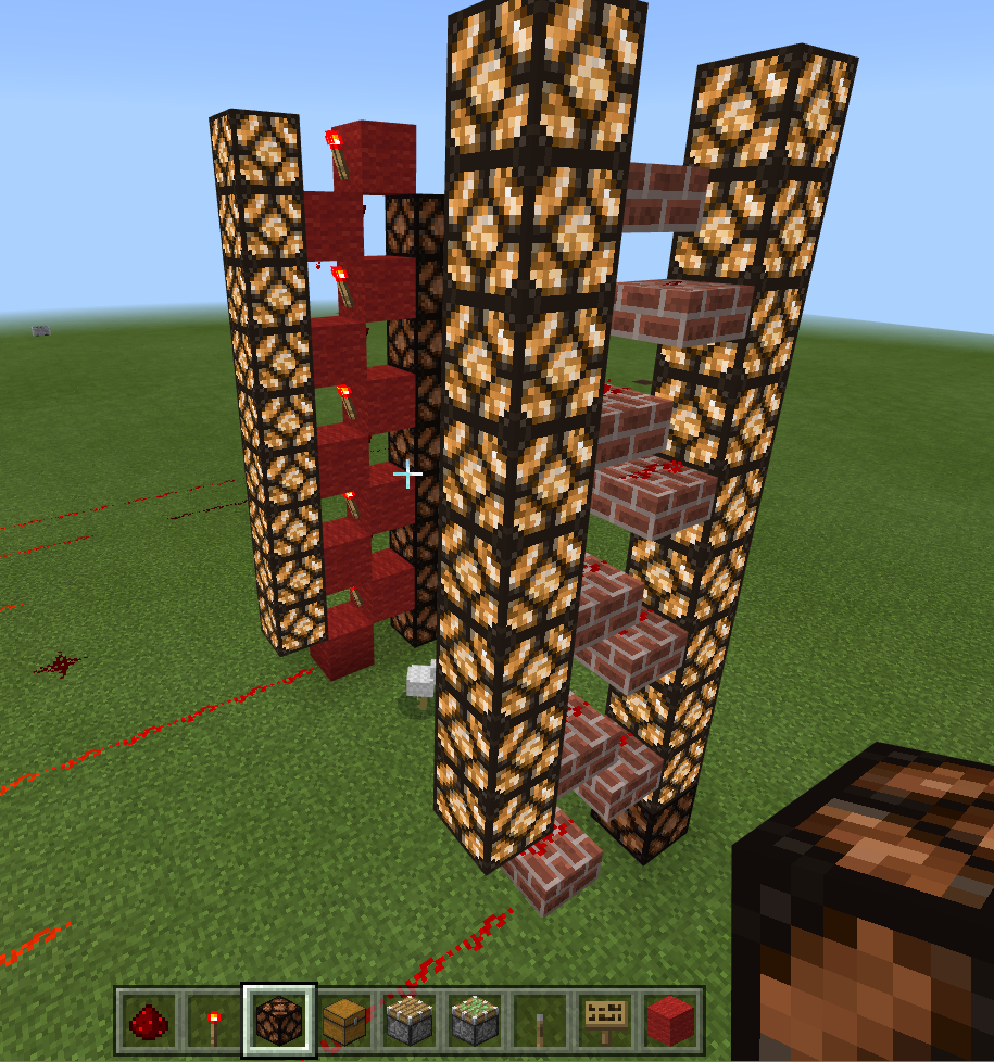 My Minecraft Journey Lesson Seven Be A Player Microsoft Two Way Switch Redstone Image Of Circuit Column