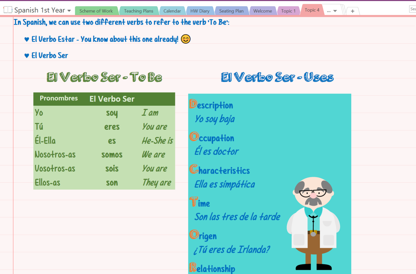 Gamifying the Spanish Classroom with OneNote - Microsoft in