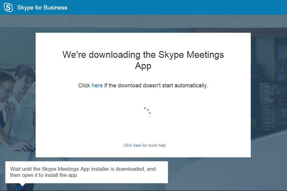Using the Skype for Business Meetings App - Microsoft in